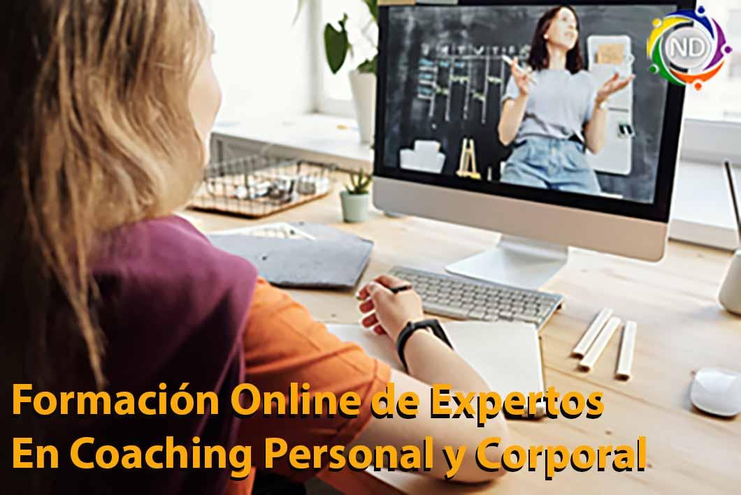 Curso de Coaching Personal y Corporal Online.